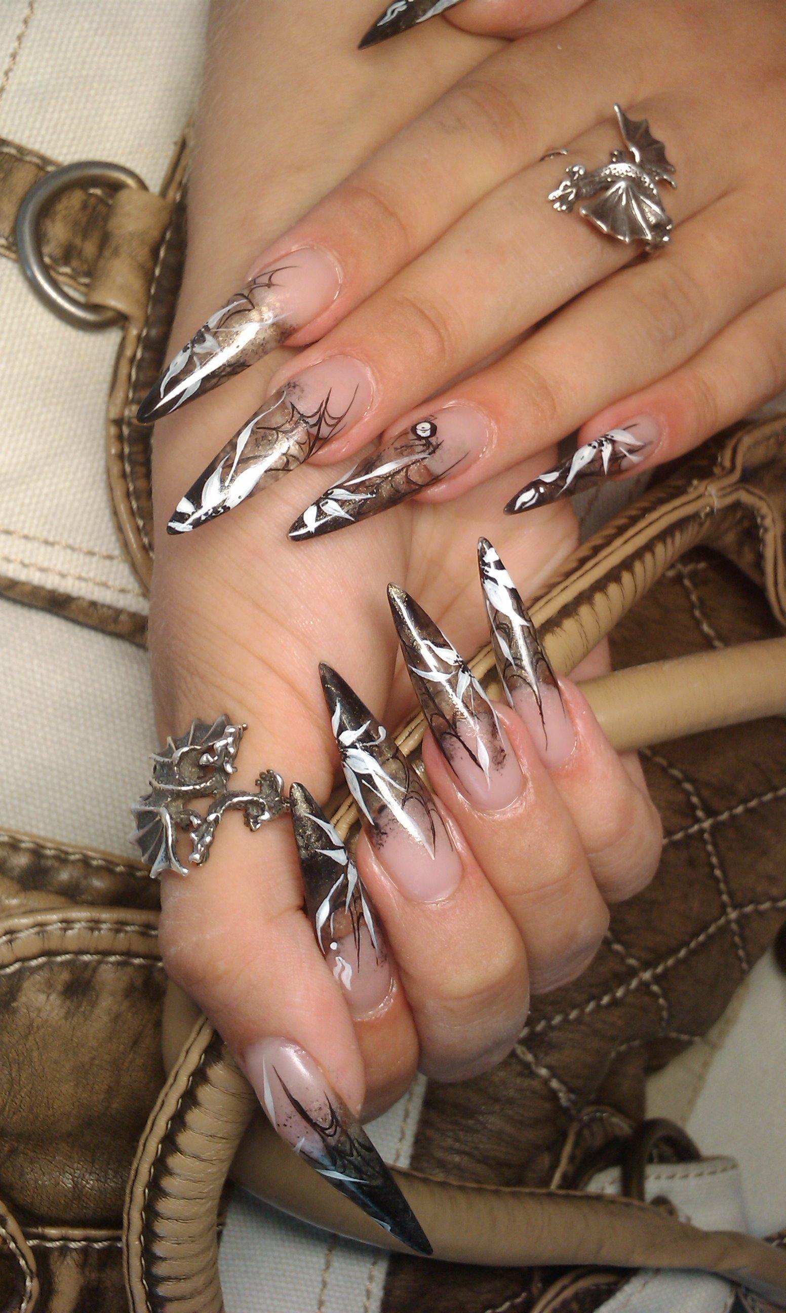 Фото острых ногтей в контакте